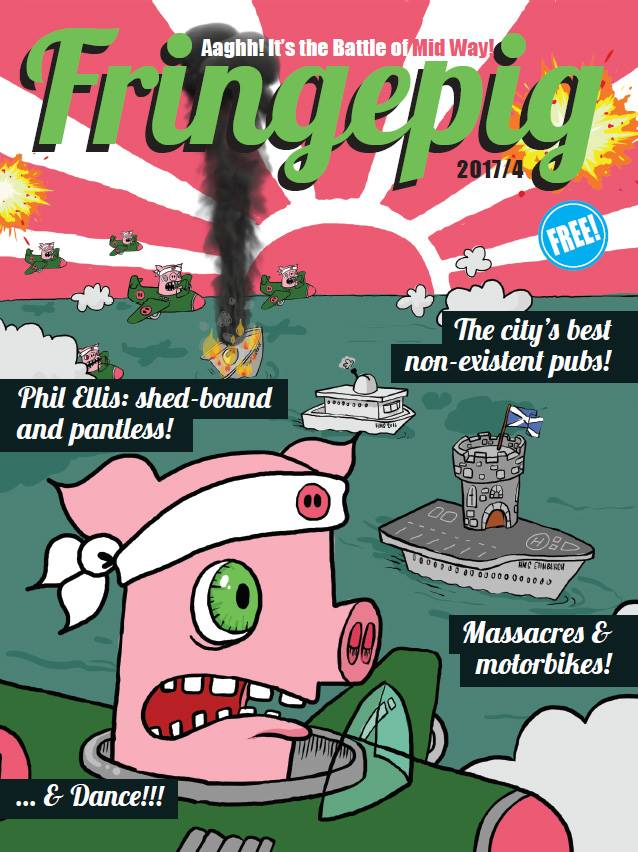 Fringepig: Issue 4