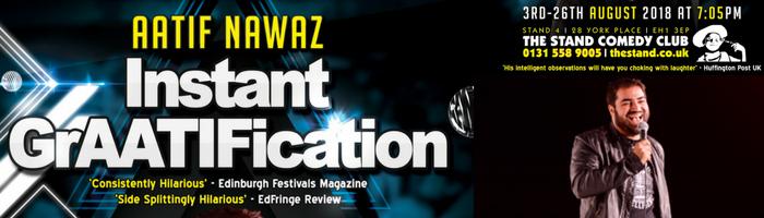 ADVERTISEMENT: Aatif Nawaz: Instant GrAATIFication
