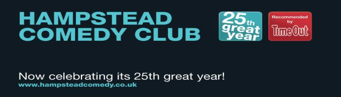 ADVERTISEMENT: Hampstead Comedy Club
