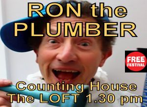 ADVERTISEMENT: RON THE PLUMBER MEETS GOD-CILLA