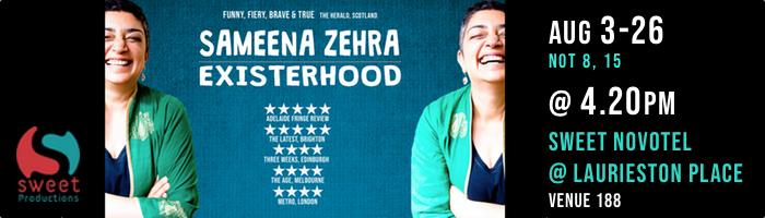 ADVERTISEMENT: Sameena Zehra
