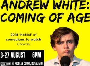 ADVERTISEMENT: Andrew White