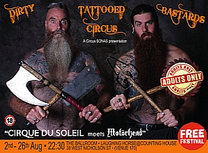 ADVERTISEMENT: Dirty Tattooed Circus Bastards